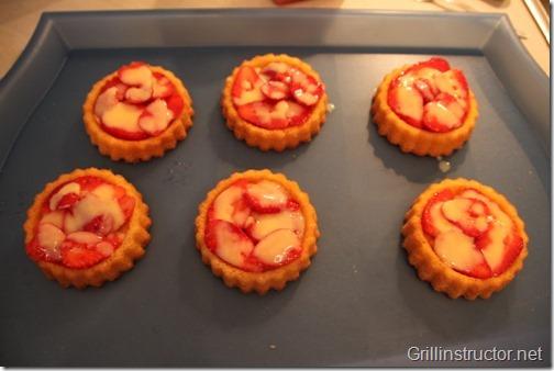 Eis-grillen-Grill-die-Eisbombe-mit-Früchten-Nachspeise (6) (Andere)