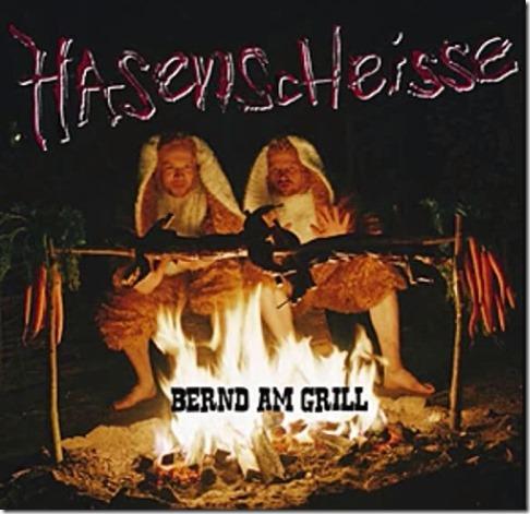 Hasenscheisse-Bernd-am-Grill