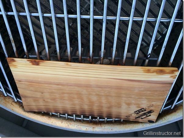 Lachs auf der Planke grillen (3)