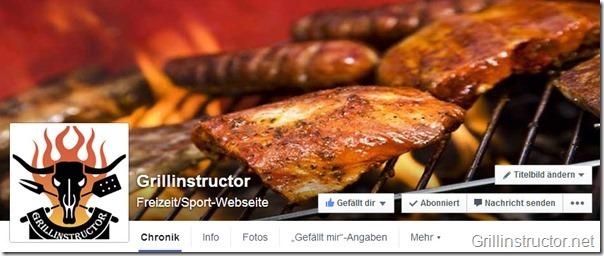 Facebook-Grillinstructor-Webseite