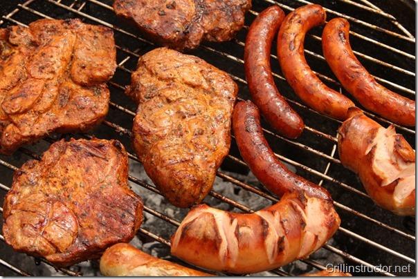 Grilltyp-Schnell-Fleisch-Griller