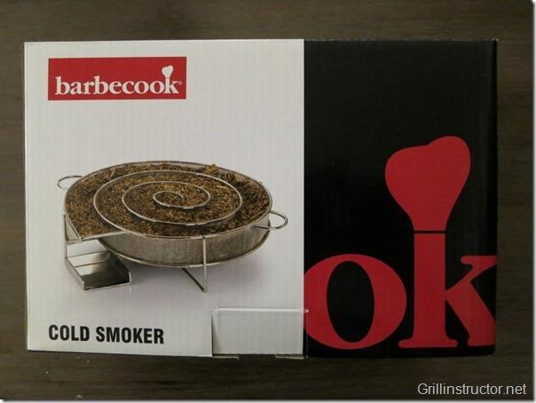 cold smoker kaltrauchgenerator von barbecook im test. Black Bedroom Furniture Sets. Home Design Ideas