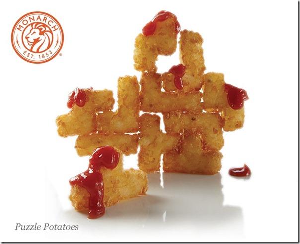 Tetris-Kartoffeln