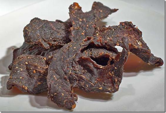Beef-Jerky-Fleisch