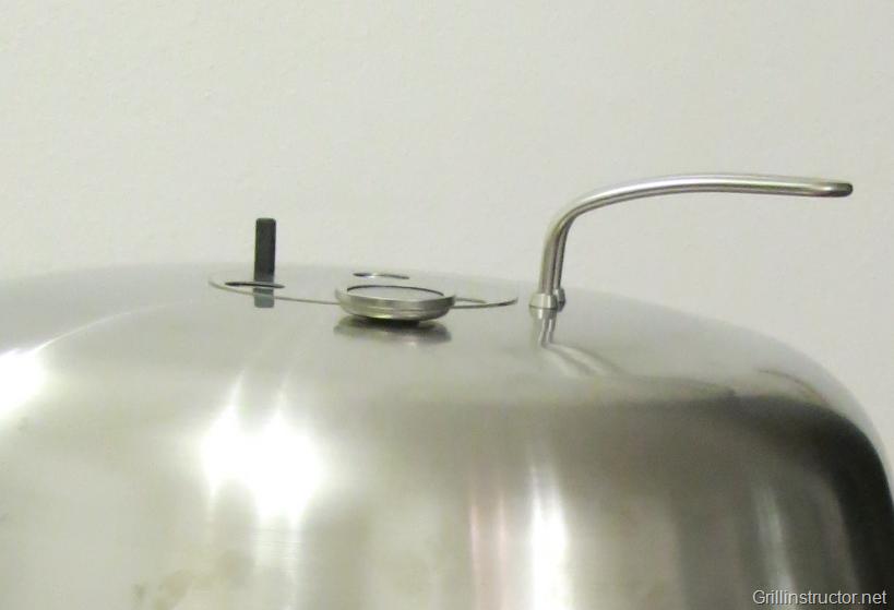 Weber Holzkohlegrill Thermometer Nachrüsten : Dancook grill u2013 deckelthermometer nachrüsten u2013 einbauanleitung