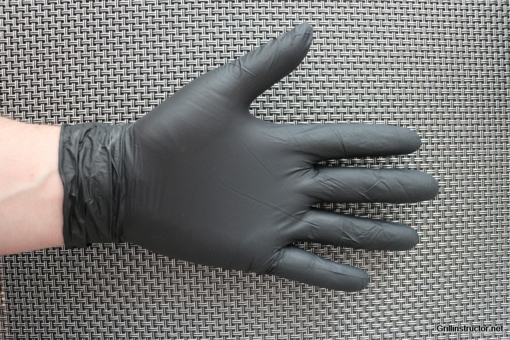 tiga med schwarze einweg handschuhe aus nitril im test. Black Bedroom Furniture Sets. Home Design Ideas