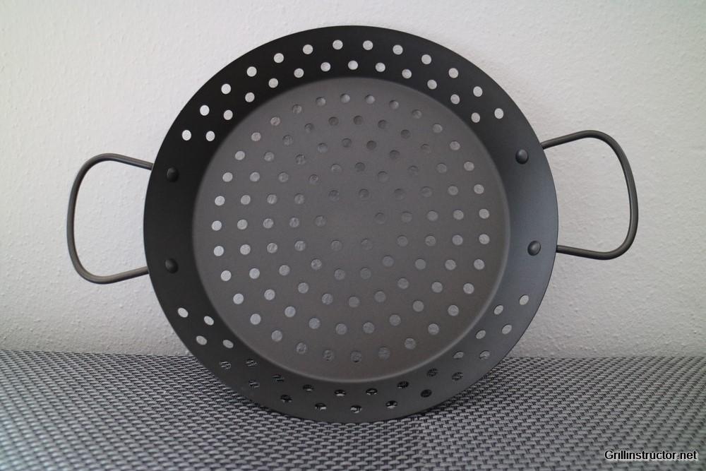 Grillpfanne Für Gasgrill : Gelochte grillpfanne grill wok von jamie oliver im test