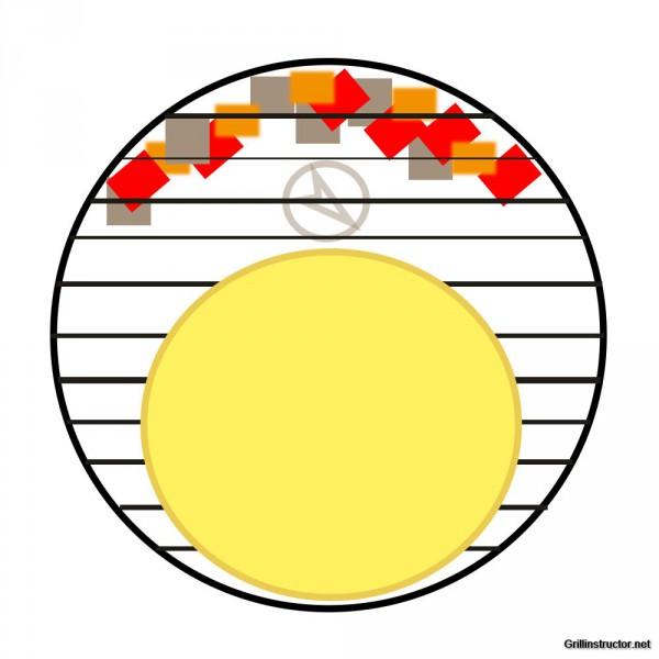 Pizza-Stein-Kohle-Anordnung-Weber-Pizzastein