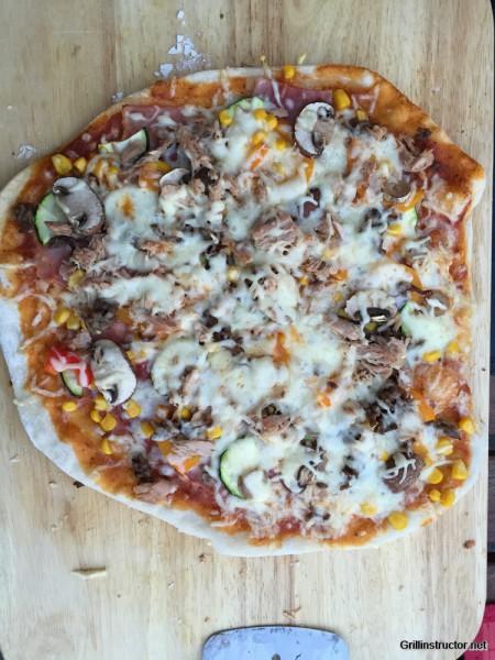 Pizzateig ohne gehen - Wartezeit - Rezept (10)