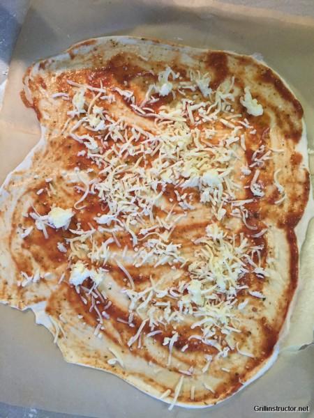 Pizzateig ohne gehen - Wartezeit - Rezept (7)