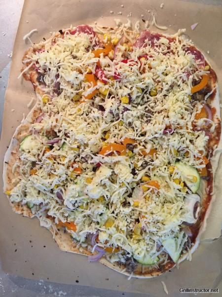 Pizzateig ohne gehen - Wartezeit - Rezept (9)