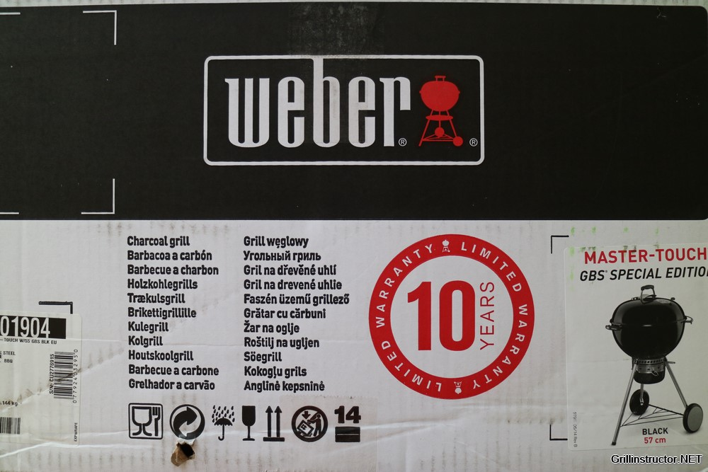 Weber Holzkohlegrill Master Touch Gbs 57 Cm : Weber master touch gbs special edition im test