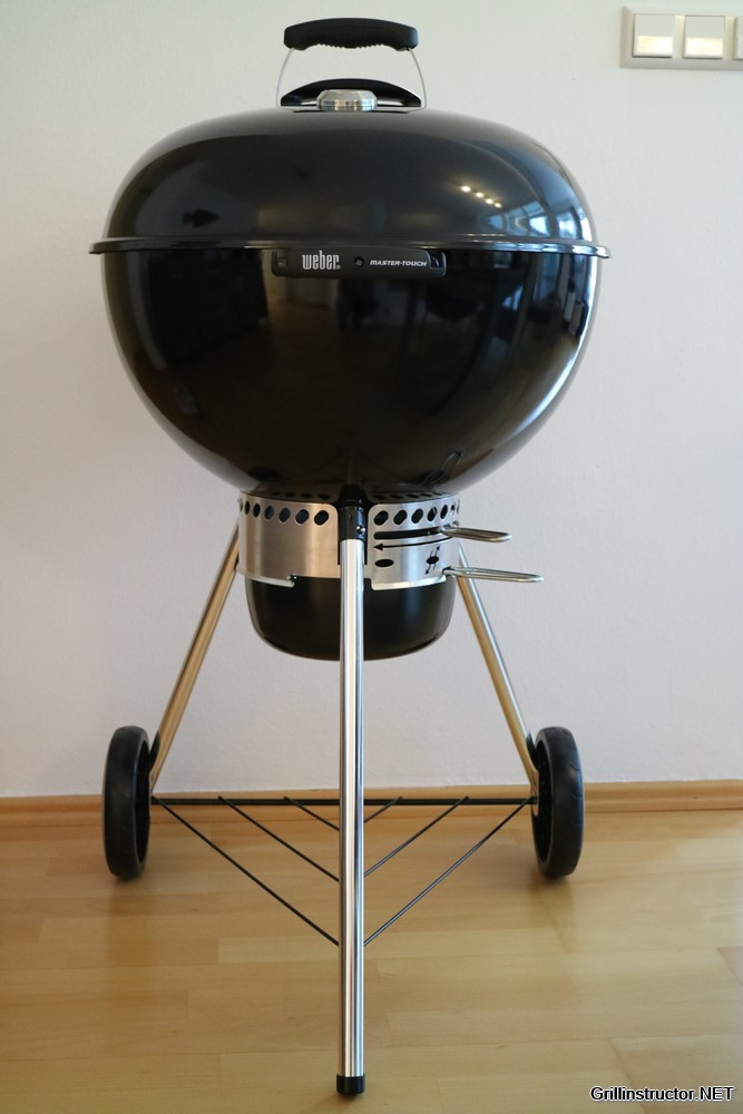 Weber master touch gbs special edition im test for Weber master touch