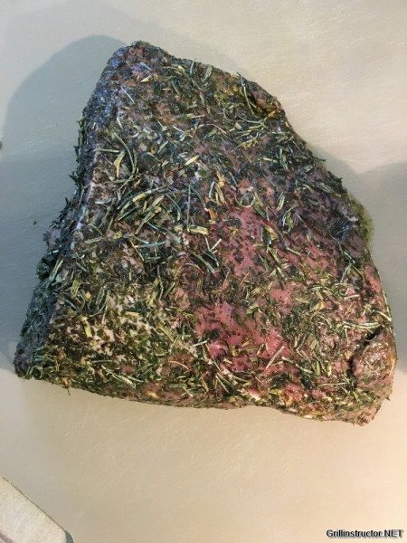 Roastbeef mit Kräuterkruste - bei Niedertemperatur garen (5)