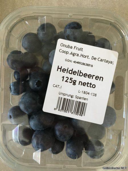 Früchte - Obst - Beeren Crumble vom Grill - Rezept (1)