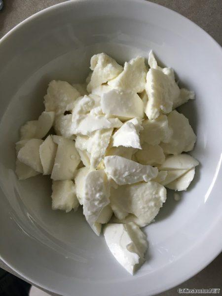 Mozarella Nudelsalat mit getrockneten Tomaten (4)