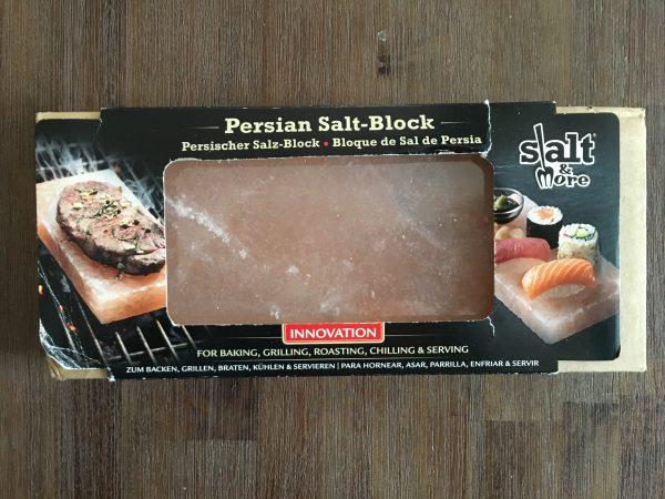 Persischer Salz Block - Salzplanke zum Grillen im Test (1)