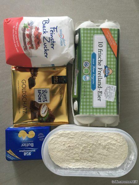 Schokoladen Souffle vom Grill (1)