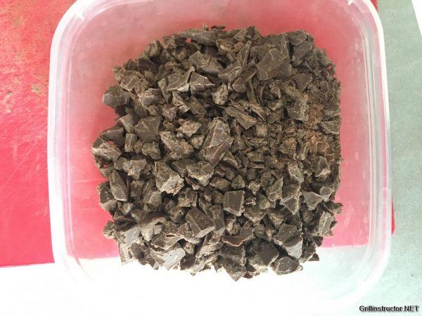 Schokoladen Souffle vom Grill (2)