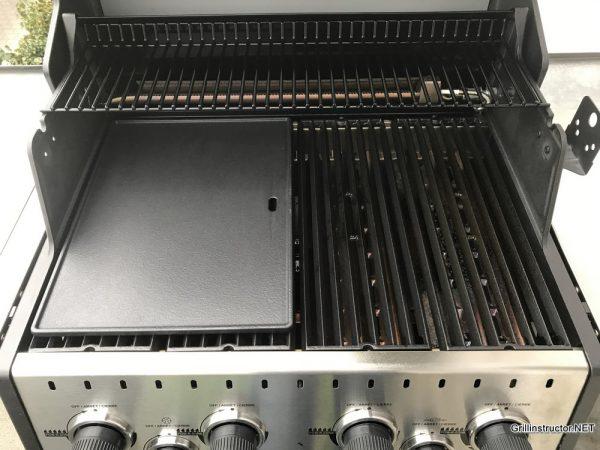 Grillplatte Für Gasgrill : Billige gusseisen grillplatte im test